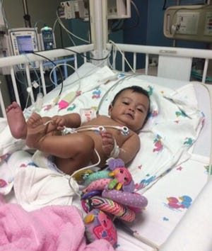 In August, Victoria Morales of Laredo had her third heart surgery at the Heart Center at Driscoll Children's Hospital.