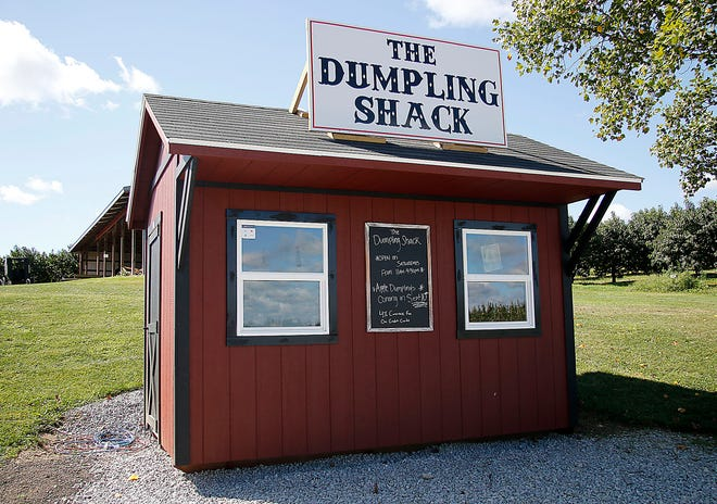 The Dumpling Shack at Scenic Ridge Fruit Farm on state Route 89 south of Jeromesville is seen here on Thursday, Sept. 9, 2021. TOM E. PUSKAR/TIMES-GAZETTE.COM