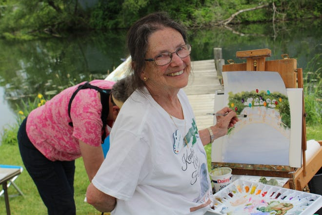 The Keuka Arts Festival showcases the work of professional artists from around the region.