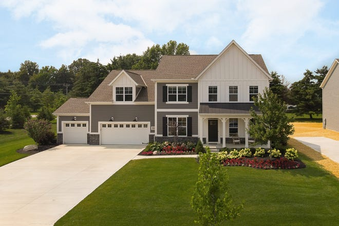 Donley Homes will feature its Jefferson model at the Meadowmoore Reserve community in Pickerington during the Parade of Homes.
