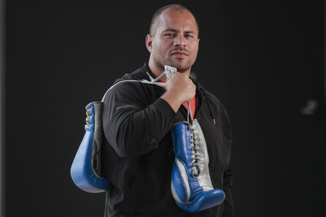 Columbus police Sgt. LeVon Morefield, a Columbus native and former walk-on for the Akron Zips football team, won gold in boxing  at the World Police and Fire Games in Los Angeles in 2017 and plans to train for next year's games after recovering from injuries and passing his sergeant's exam.