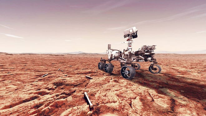 NASA's Perseverance rover landed on Mars in February 2021.