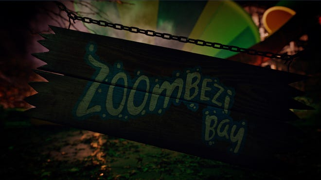 The Zoombezi Bay waterpark will transform into ZOMBIEzi Bay from mid-September through Oct. 31.
