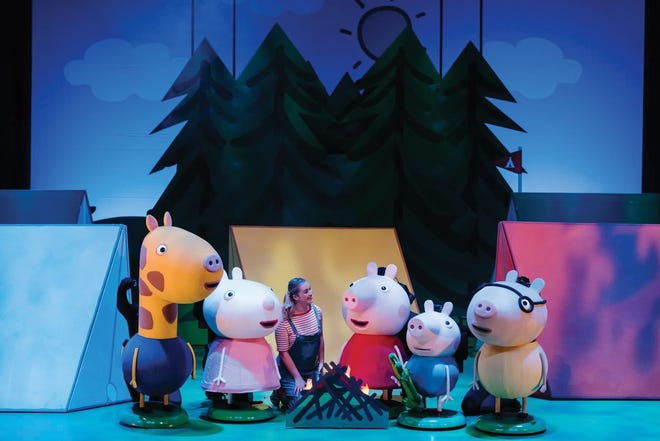 """""""Peppa Pig's Adventure!"""" stops at the Palace Theatre on Oct. 16."""