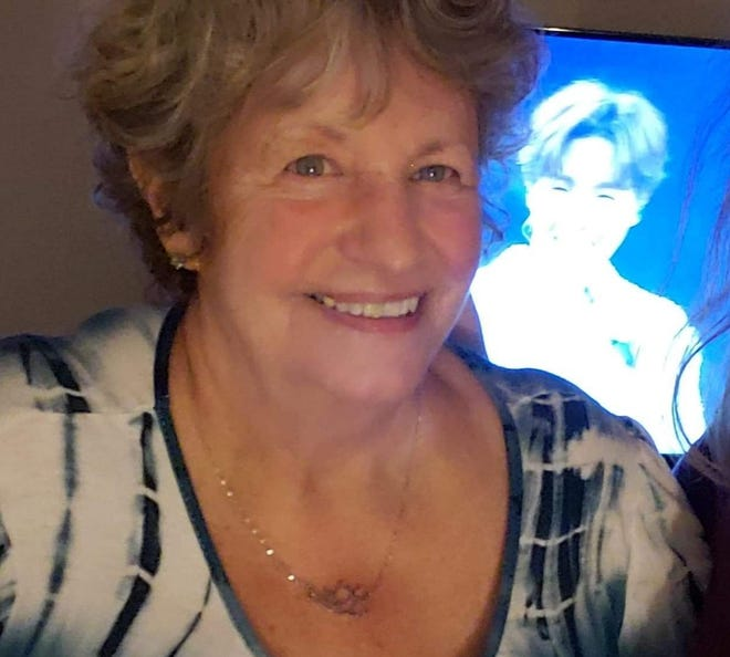 This is Gratia Karmes in February 2021, at her home in Starkville, Mississippi, with her favorite band, BTS playing in the background. The former social worker for the Lenawee Community Mental Health Authority and a former volunteer for the Red Cross, recalls her time spent at Ground Zero in the wake of the Sept. 11, 2001, terrorist attacks.
