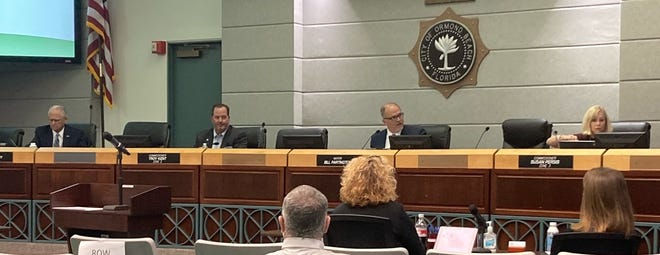 Ormond Beach commissioners approved 4-1 vote for budget and millage rate increase.