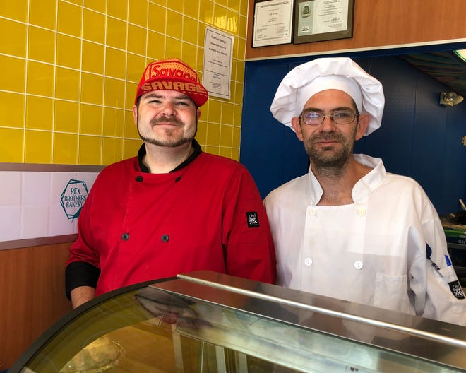 Andrew Rex, left, and his brother, Max Rex, have opened Rex Brothers' Bakery, 3558 W. 26th St., using family recipes.