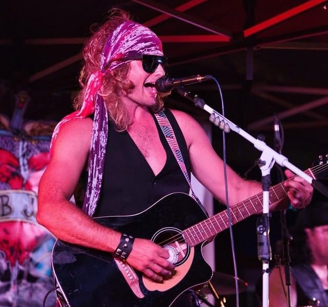 Bobby Kerr and bandmates take the stage Saturday night in Grain Valley as Bob Jovi, a tribute band.