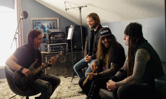 Saliva, a band fronted by Jacksonville's Bobby Amaru, is on the bill for the Rock the Box concert Oct. 1 at the Thrasher-Horne Center in Orange Park.