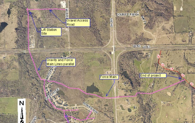 The Sherman City Council recently approved a $132,744 change order to its northwest sewer project amid supply production issues.
