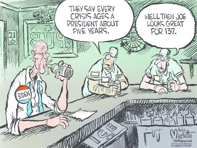 Today's editorial cartoon Sept. 10 2021