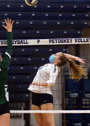 Petoskey volleyball will have to wait out the rest of the week before returning to the court, which includes the cancellation of their hosted tourney.