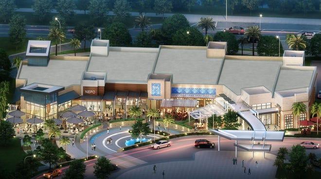 A rendering of Boca Raton's new Restaurant Row.