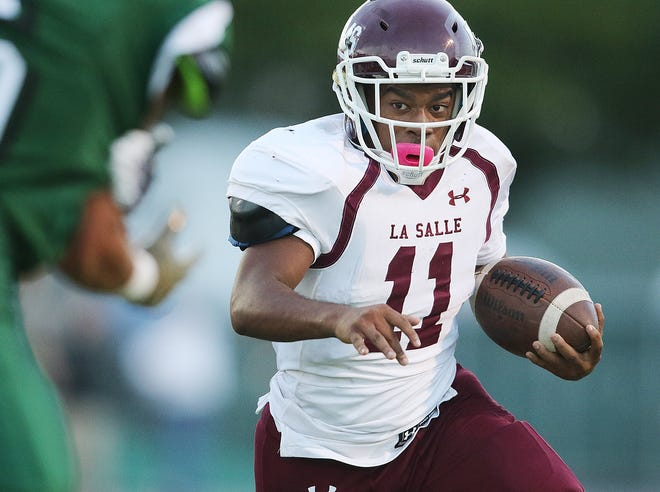 Senior running back Jacob Gibbons is expected to gain substantial yardage for La Salle this fall.