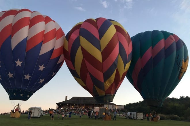 Chaumette Vineyards & Winery announced it will hold its annual Balloon Glow this year.