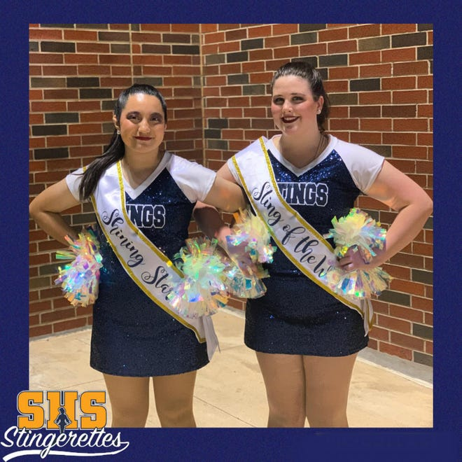 The Stephenville High School Stingerettes are proud to recognize these dancers for their efforts the week of the Aug. 27 pep rally and varsity football game. Joseline was awarded Shining Star and Madylyn was Sting of the Week.
