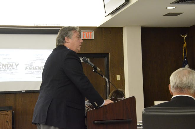 This week Berkeley Young, with Young Strategies Inc., presented Shawnee city commissioners with highlights of a study he was commissioned to do on travel in Shawnee.