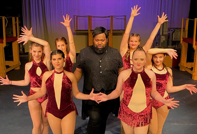 """K.C. Goldsby is the Leading Player, who narrates the story of """"Pippin."""""""