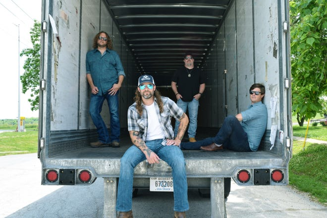 """The Joe Stamm Band appeared for the second time on the main stage at the Kewanee Hog Days Festival Sunday.  The band's sound is a mixture of """"Midwestern roots, black dirt country rock and the red dirt music scene."""""""