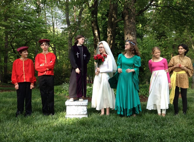 Past teen production of Shakespeare's 'Much Ado About Nothing' in Greensboro, N.C. A free showcase performance will be held Nov. 23 at Brunswick Little Theatre in Southport.