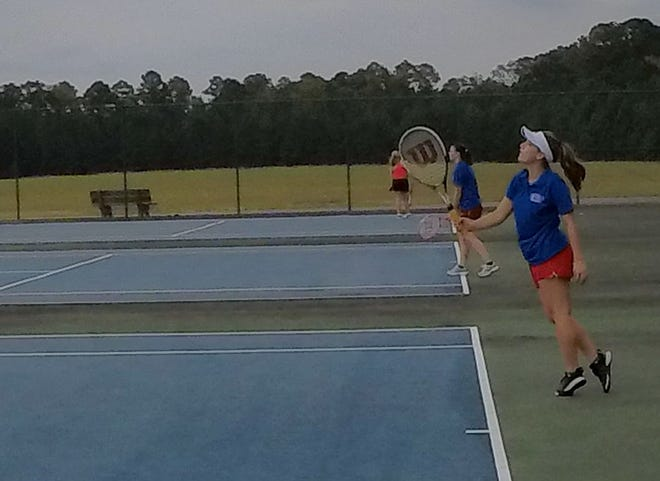 Although they have yet to complete a match due to weather, the West Craven girls tennis team has been on the court twice so far this fall after not fielding a team for five seasons.