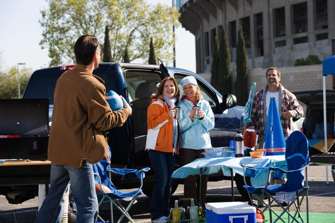 Tailgating and game-day spreads can feature nutritious foods and still be fun.