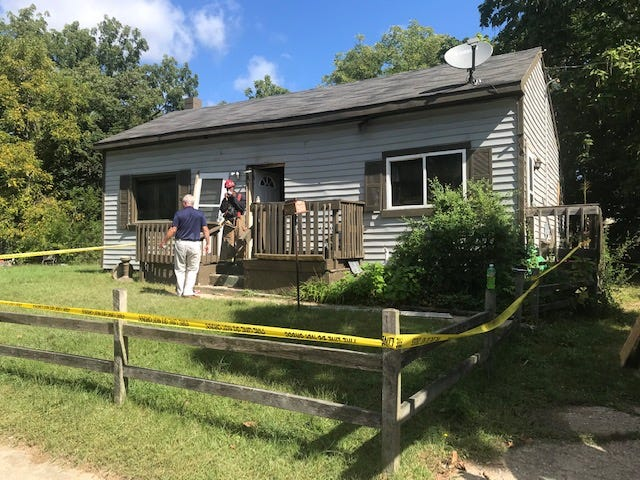 A fire late Wednesday caused heavy damage to the interior of this home at 202 Graves Ave.