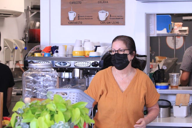 Betty Martinez-Sperry, the owner of Cuban Cousins Cafe, opened her business less than a year ago, making the pandemic her normal.