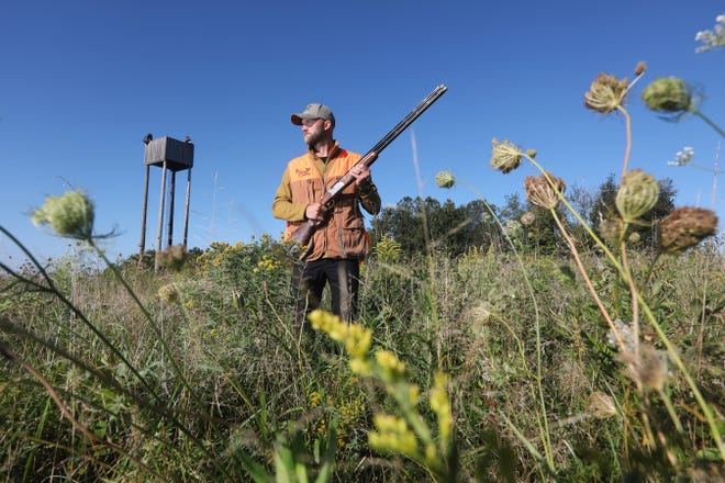 Brice Ringwalt runs Elsaan Outfitting in western Coshocton County, having taken over from his parents Dean and Kari. Elsaan, located about 10 miles west of Warsaw, offers a variety of bird hunts and skeet shooting.