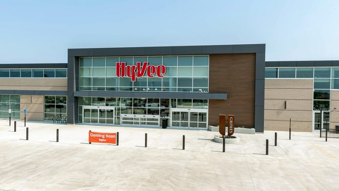 A new Hy-Vee location in Grimes, IA is expected to open Tuesday, Sept. 14, 2021.