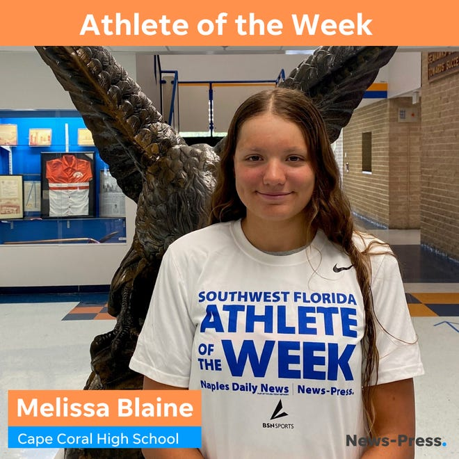 Melissa Blaine, The News-Press Athlete of the Week