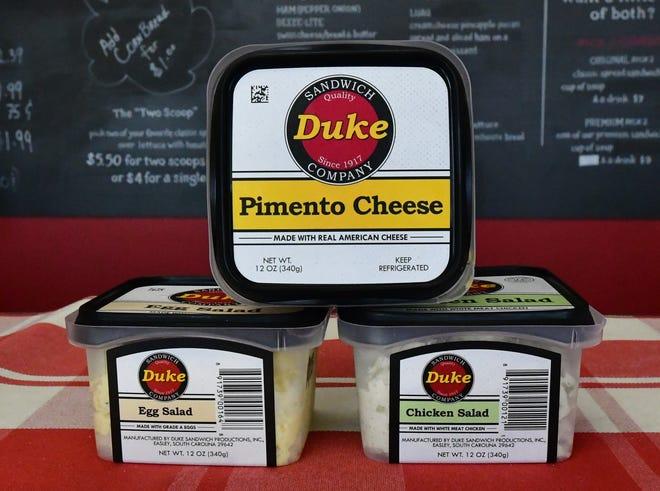 Duke Brand spreads and salads