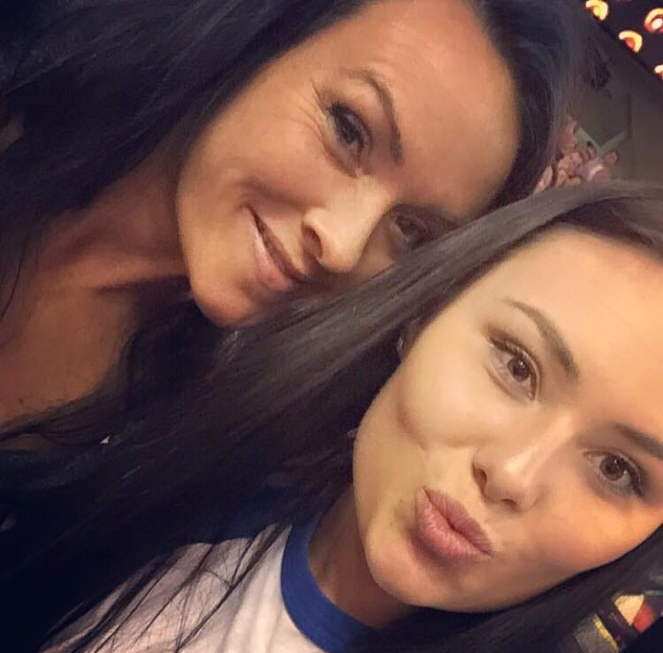 Rhonda Packineau with her daughter, Cheyenne, who died of an overdose.