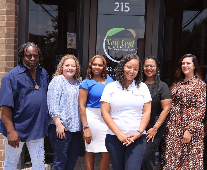 The team at New Leaf Clinic,  here to help you navigate the barriers to recovery.