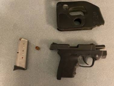Transportation Security Administration officers caught a gun while screening carry-on luggage at Milwaukee Mitchell International Airport (MKE) Friday, according to the Transportation Security Administration.