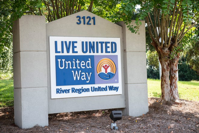 River Region United Way in Montgomery, Ala., on Thursday, Sept. 9, 2021.