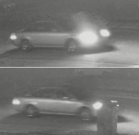 Las Cruces police are asking for help identifying the driver or occupant of this vehicle. Investigators believe the driver or occupant may be able to provide information that's relevant to the Sept. 5, 2021, death of Matthew Portillo.