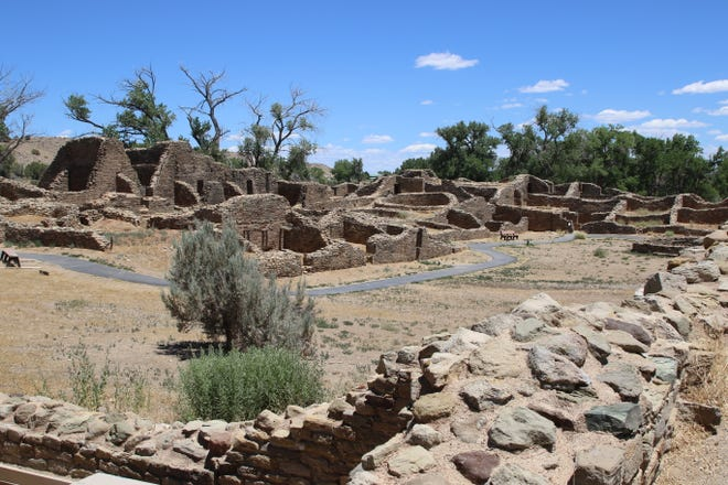 A guided tour through a section of Aztec Ruins National Monument that normally is closed to the public will be offered later this month.