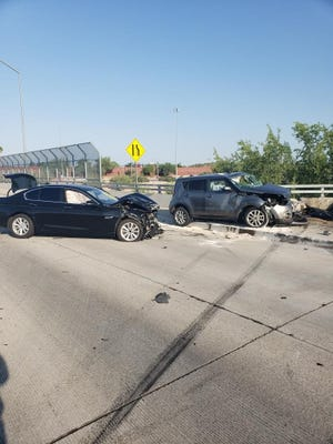 One driver was killed in a crash that happened on the Loop 202 overpass near Broadway Road on Sept. 9, 2021.
