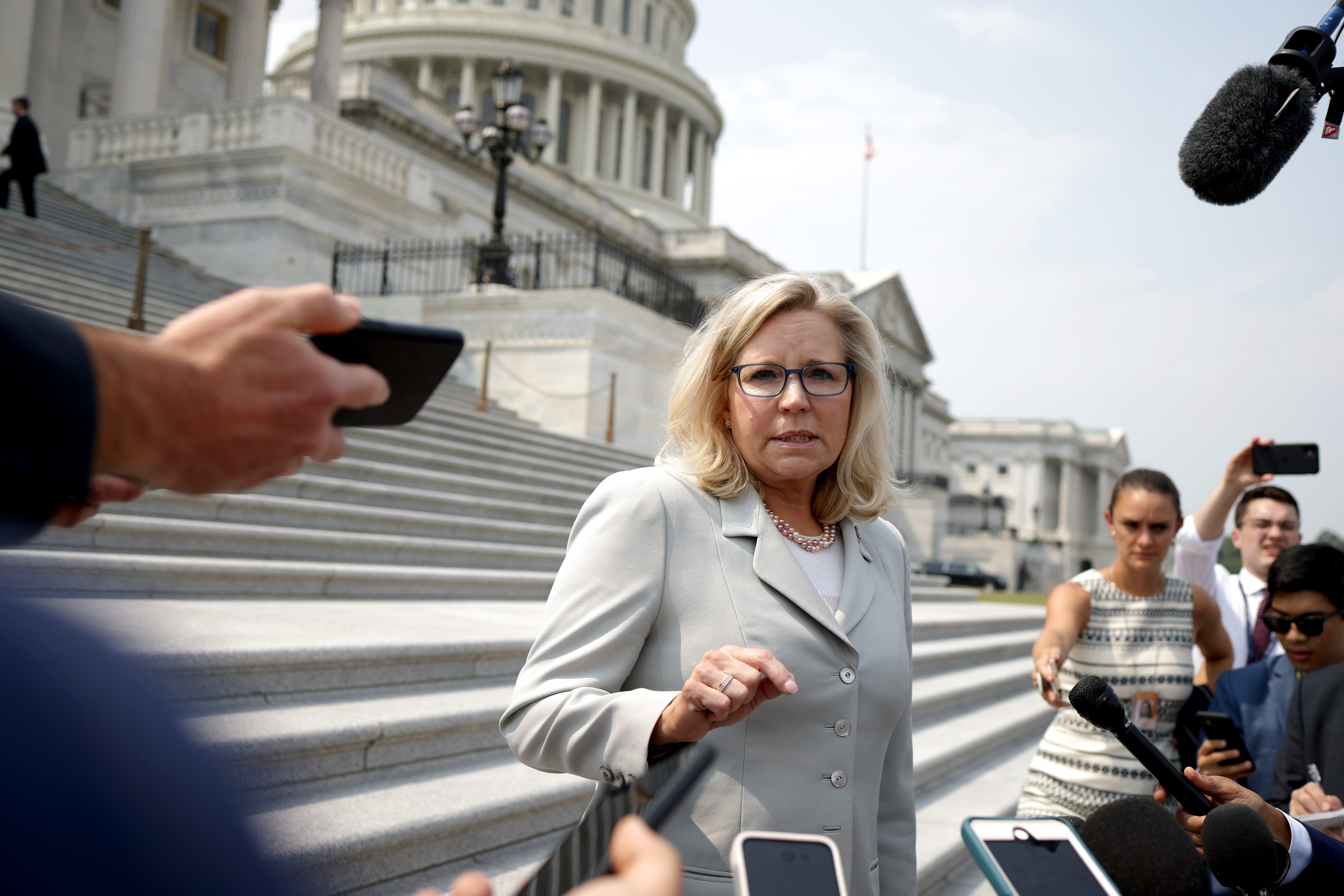 Liz Cheney vs. Donald Trump for the soul of the Republican party in a Wyoming showdown