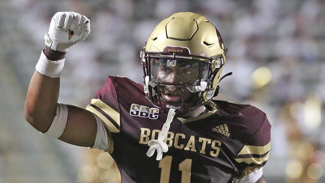 In last Saturday's season-opening 29-20 loss to Baylor, Zion Childress started at free safety, finishing with seven tackles and a forced fumble that prevented a Baylor score. He was a high school quarterback who was switched to defensive back as a freshman last year.
