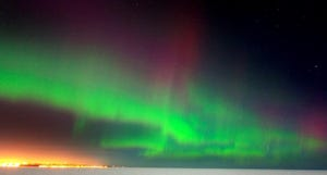 The northern lights, or aurora borealis, are an atmospheric condition usually visible only in high latitudes. In September 1941, a magnetic storm created an eerie glow around the world.