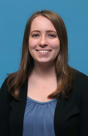Beacon Journal reporter Emily Mills