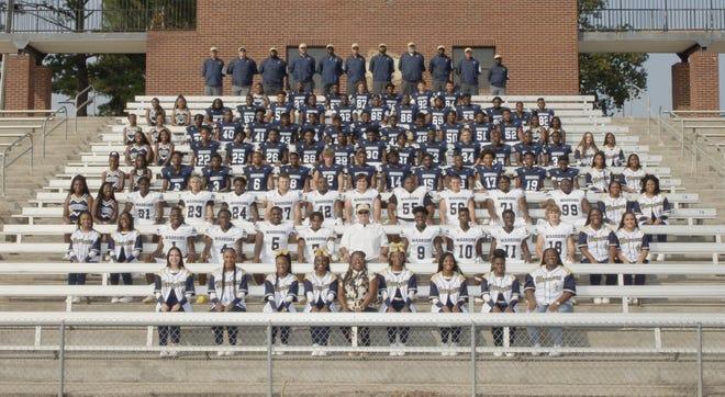 Jefferson County High School's 2021 Warrior football team