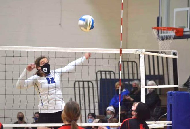 Inland Lakes junior volleyball player Natalie Wandrie has been named the Cheboygan Daily Tribune's Athlete of the Week for Aug. 30-Sept. 3.