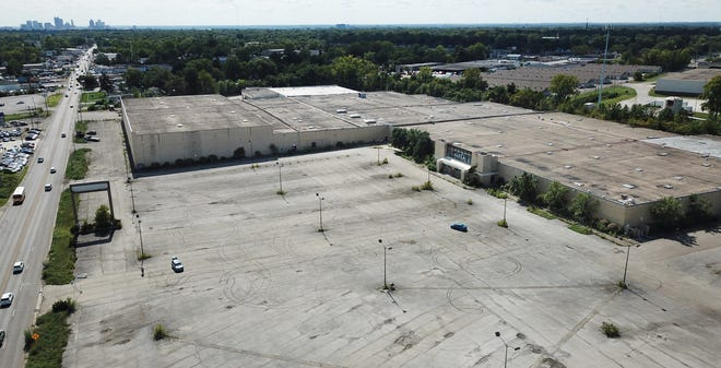 The 27-acre Value City Department Store site on Westerville Road would be used for housing and an employment center under a Columbus developer's plan.