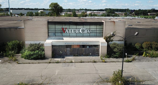 A developer has plans to turn the defunct Value City Department Store site on Westerville Road into a housing and employment center.