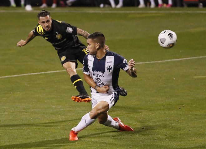 Columbus Crew SC defender Milton Valenzuela (19) is set to return this weekend for the first time since missing 12 games with a hamstring injury.