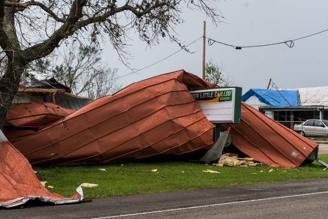 Upper Little Caillou Elementary is among Terrebonne Parish public schools that sustained major damage from Hurricane Ida, officials said.