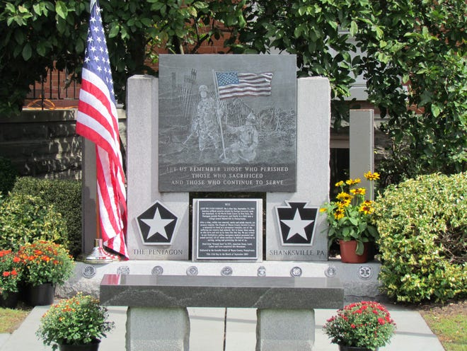 20 years later, after one of America's darkest days, Wayne County's 9/11 monument honors the first responders who were at ground zero and the members of the armed forces who served in the war thereafter.